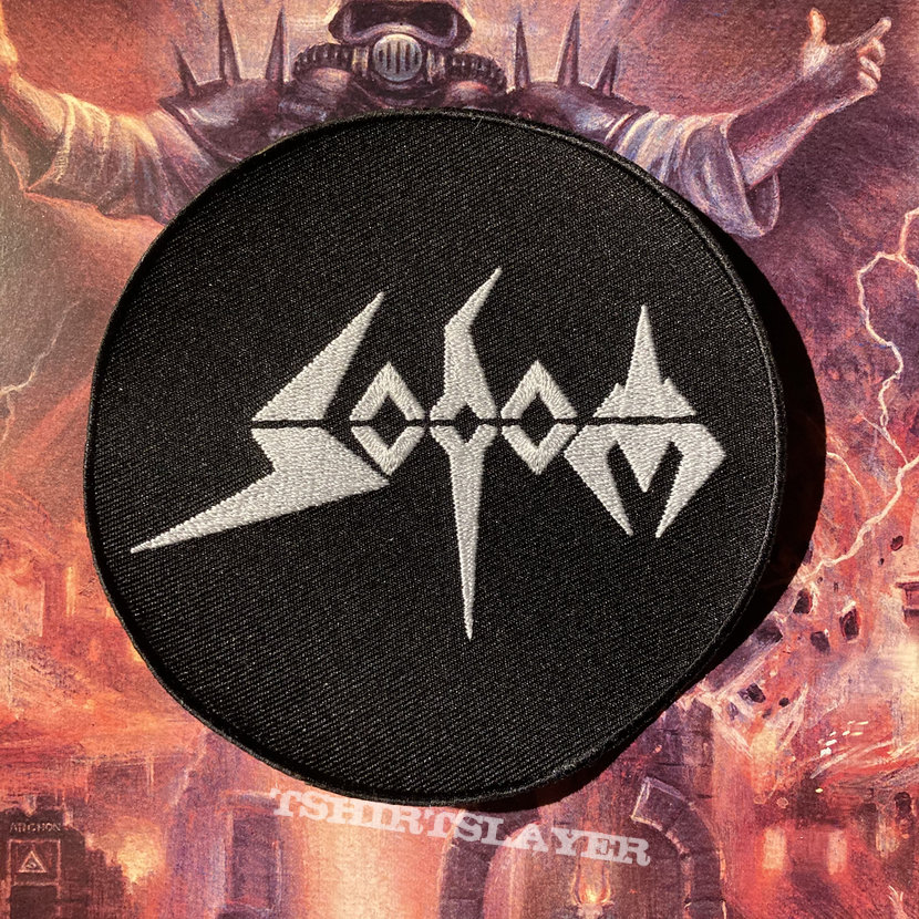 Sodom woven patch from the Genesis XIX box set
