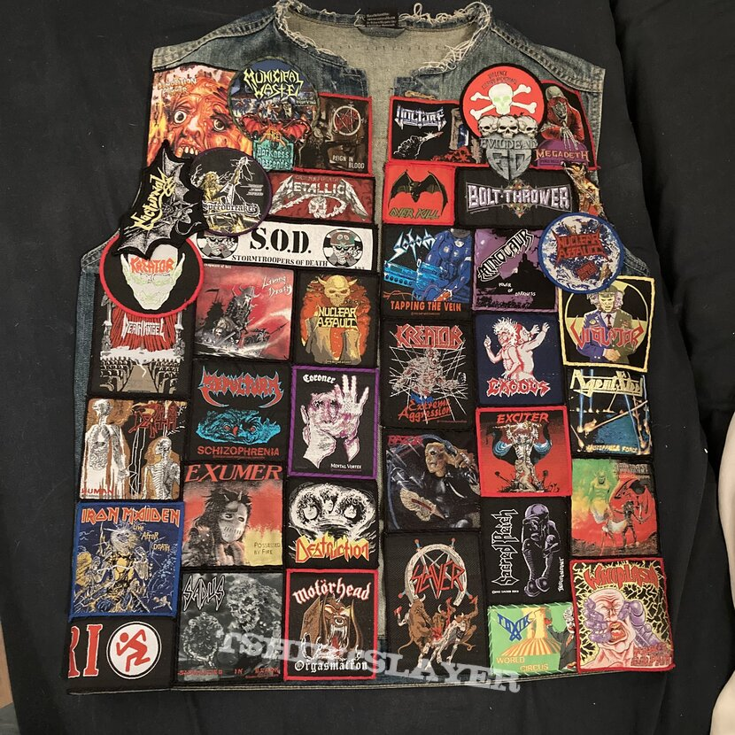 Current state of my vest
