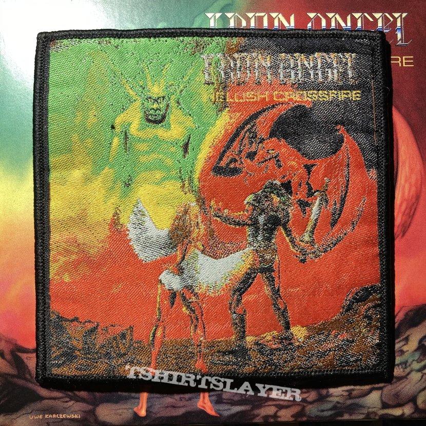 Iron Angel - Hellish Crossfire woven patch