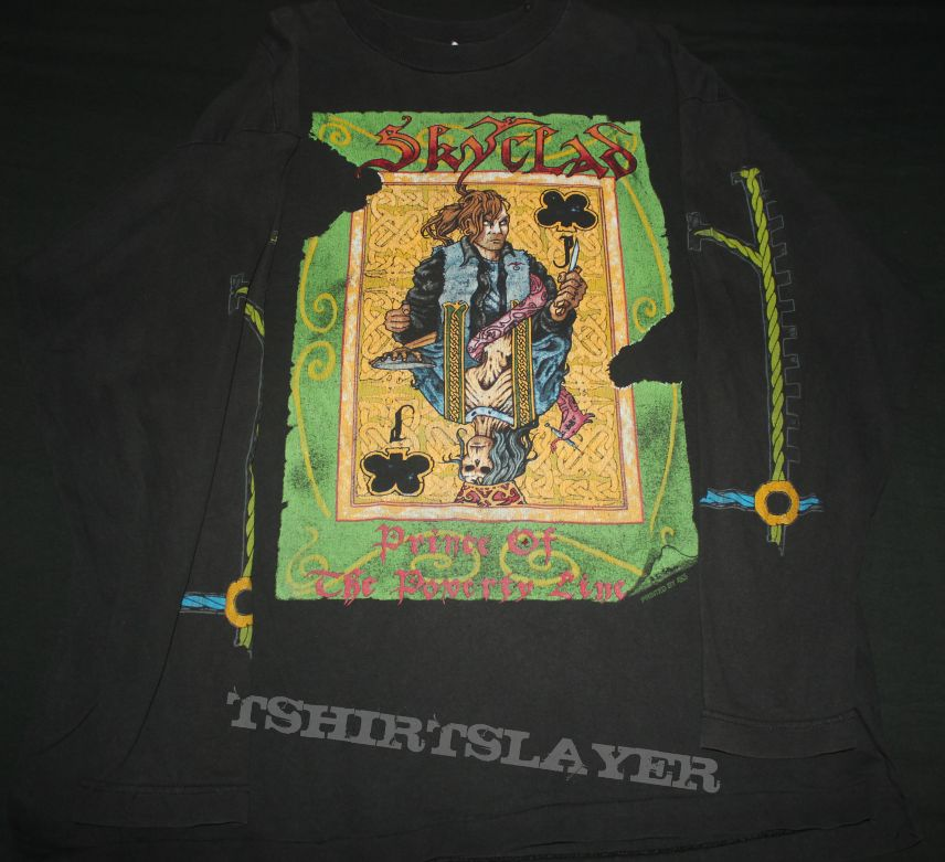 Skyclad - Prince of the poverty line LS