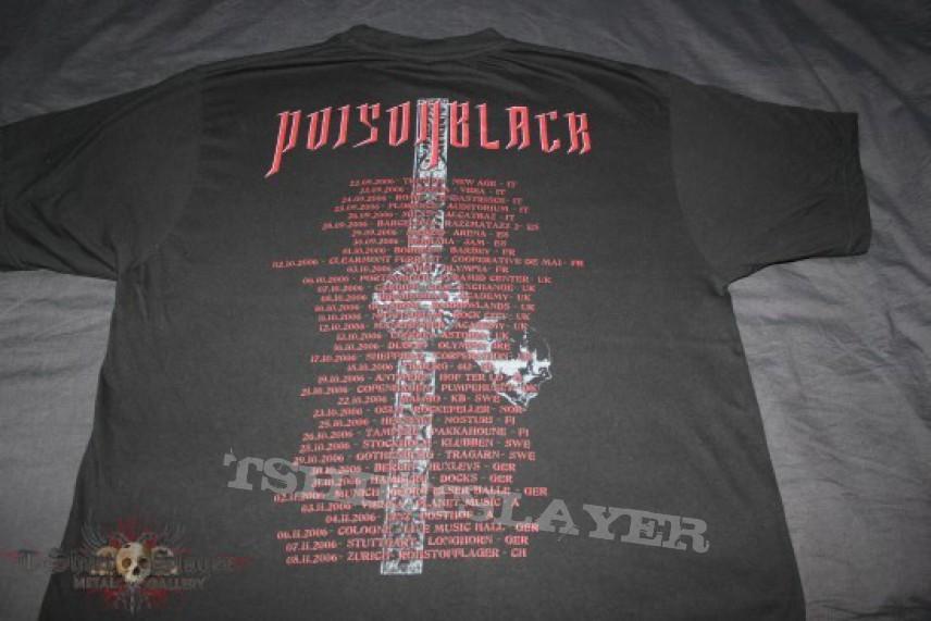 TShirt or Longsleeve - Poisonblack - Lust Stained Despair Tour 2006 TS
