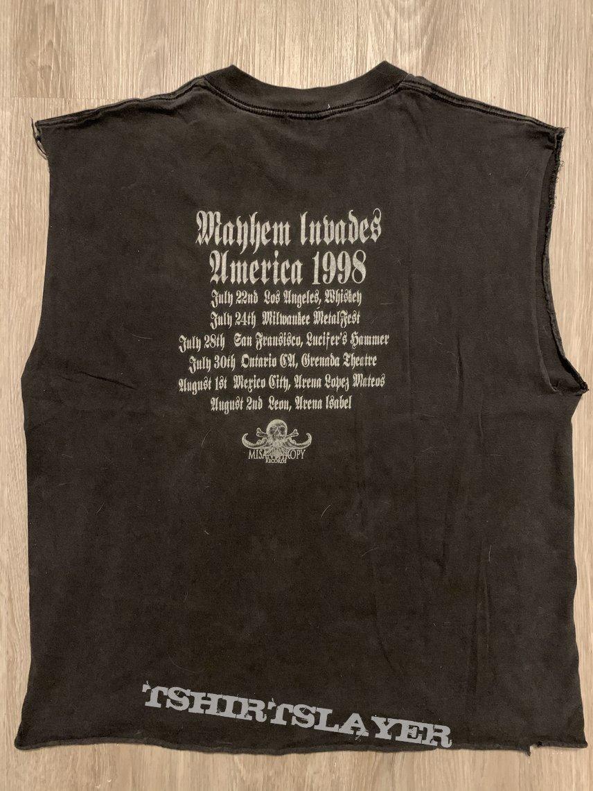 Mayhem Invades America 1998 Tour