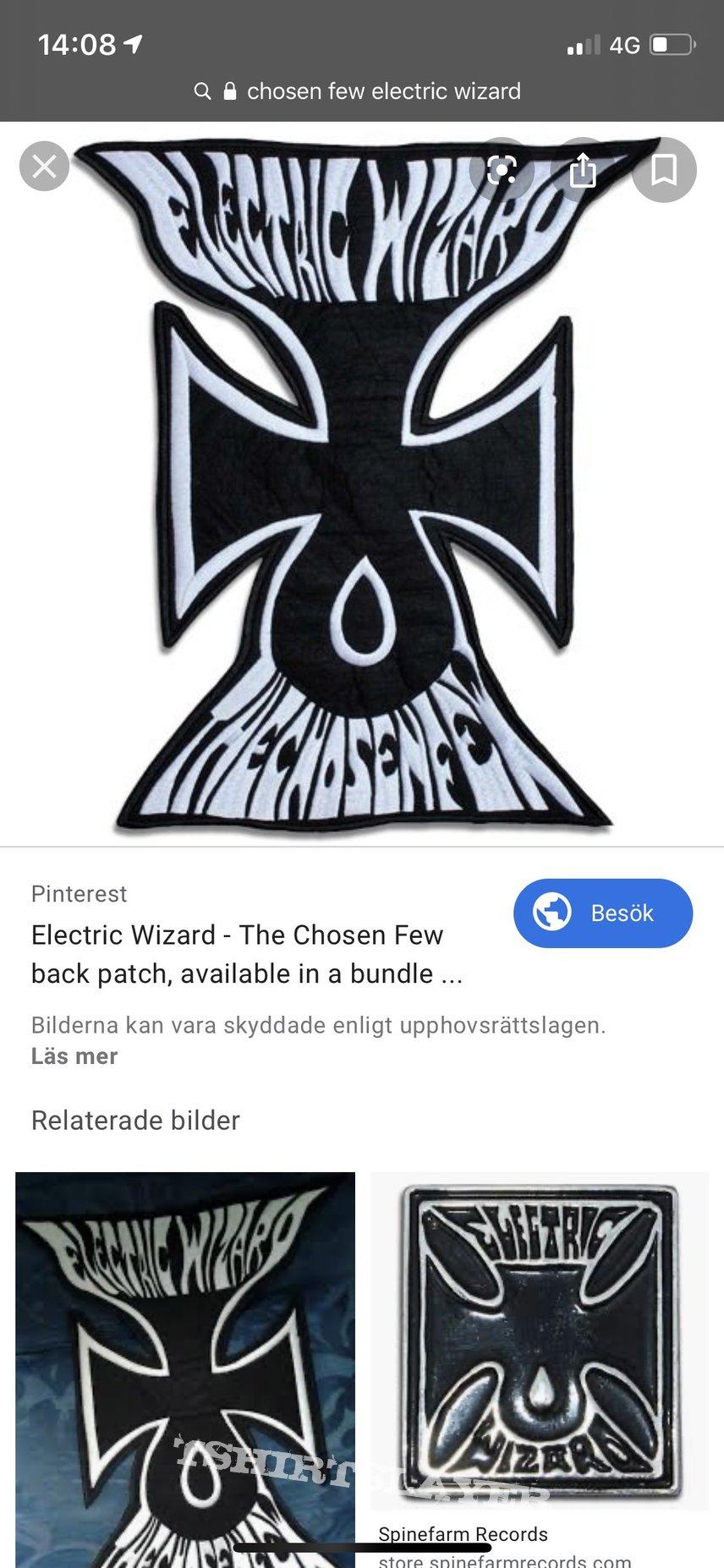 Electric wizard chosen few backpatch
