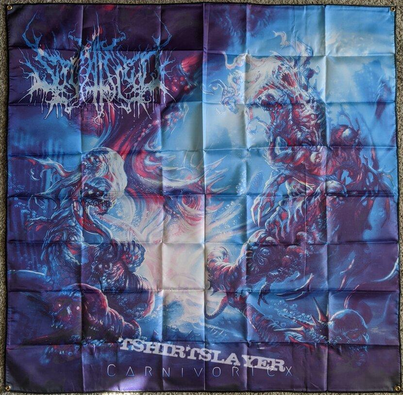 Splattered - Carnivortex Flag