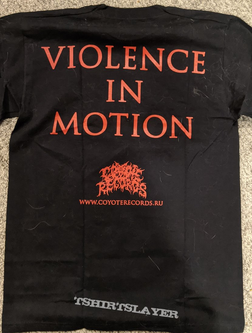 Cerebral Effusion - Violence In Motion Short Sleeve