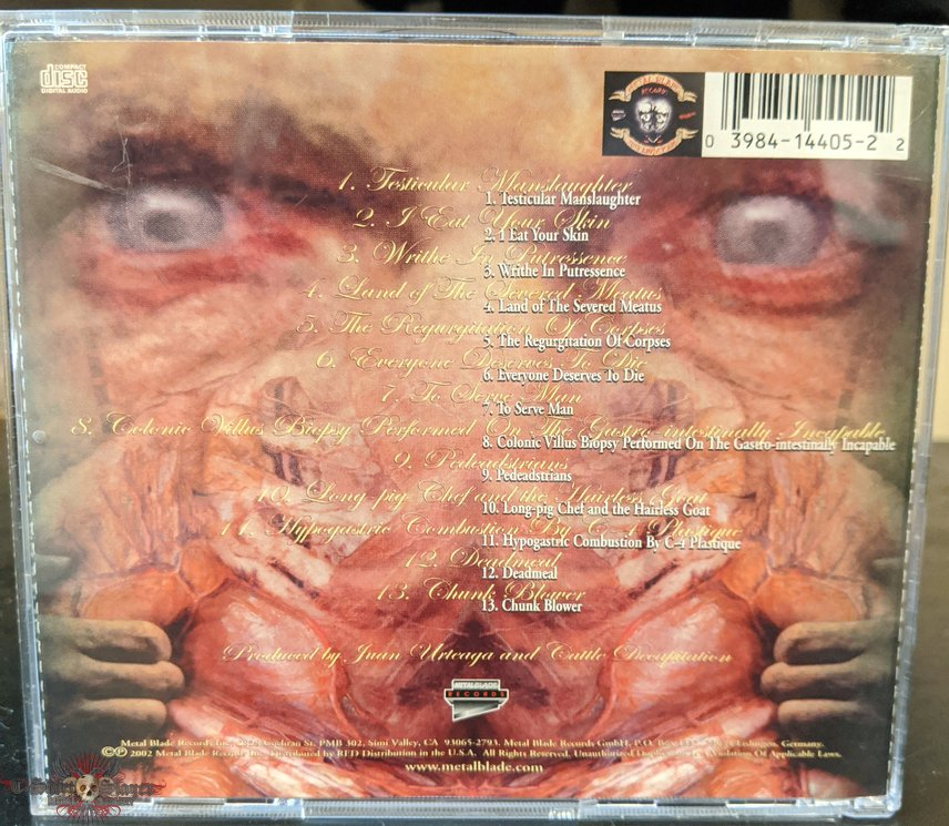 Cattle Decapitation - To Serve Man Cd