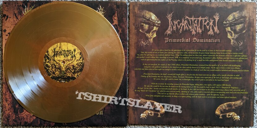 Incantation - Primordial Domination Vinyl
