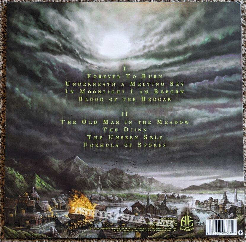 Inanimate Existence - Underneath A Melting Sky Vinyl