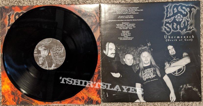 Lost Soul - Ubermensch ( Death Of God) Vinyl