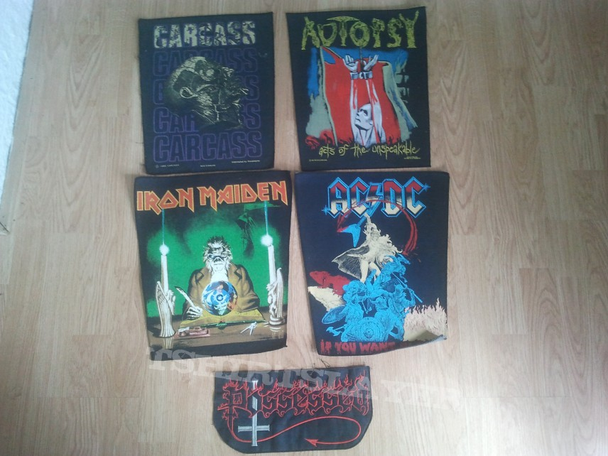 Backpatches TRADE