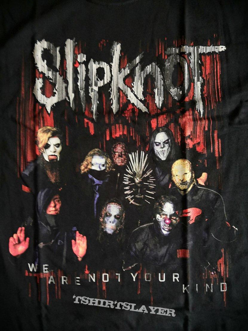 Bands Multi Frame M/änner T-Shirt schwarz Slipknot We Are Not Your Kind Band-Merch