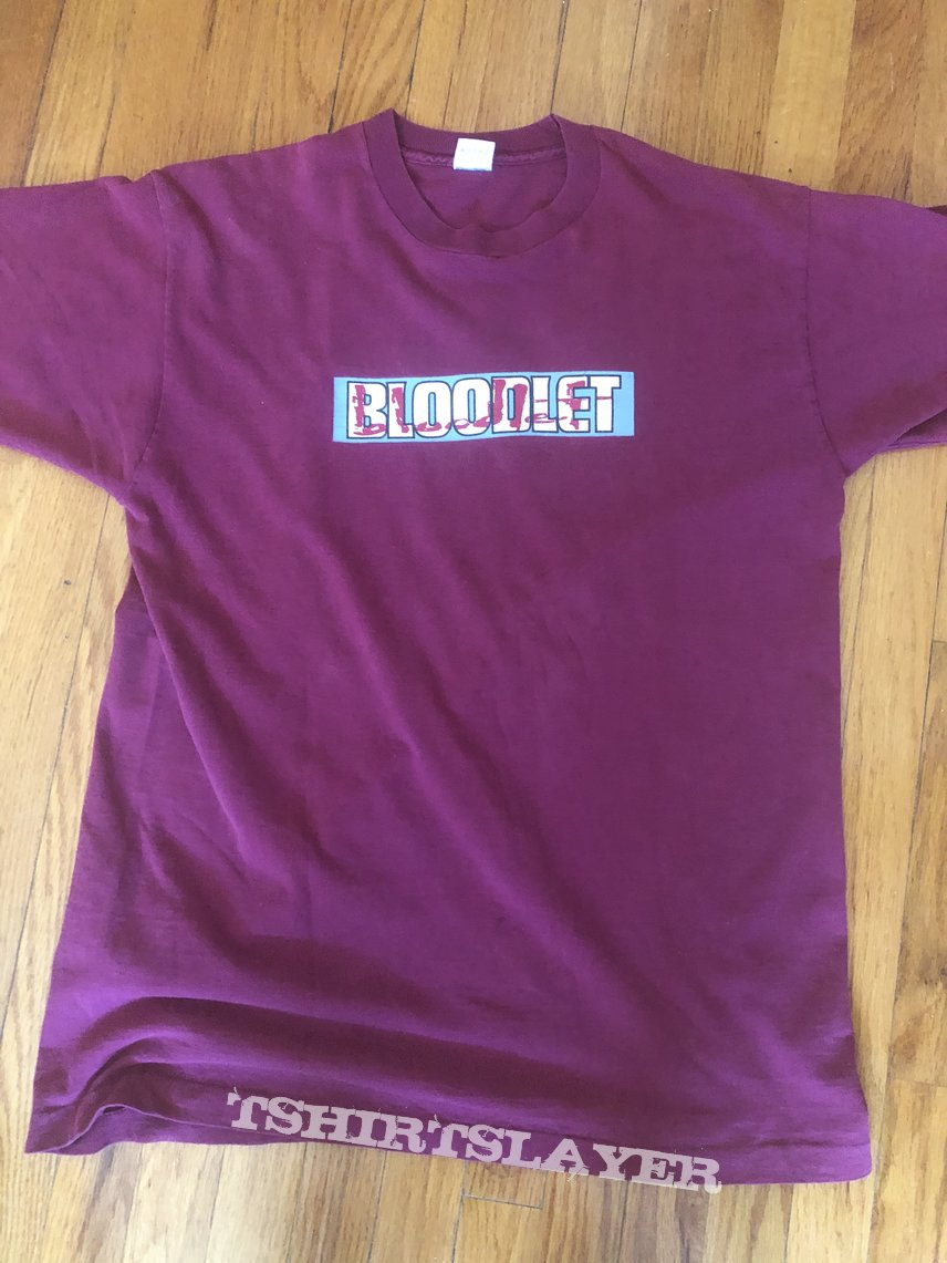 Bloodlet - Pre Victory Records shirt 1995 XL
