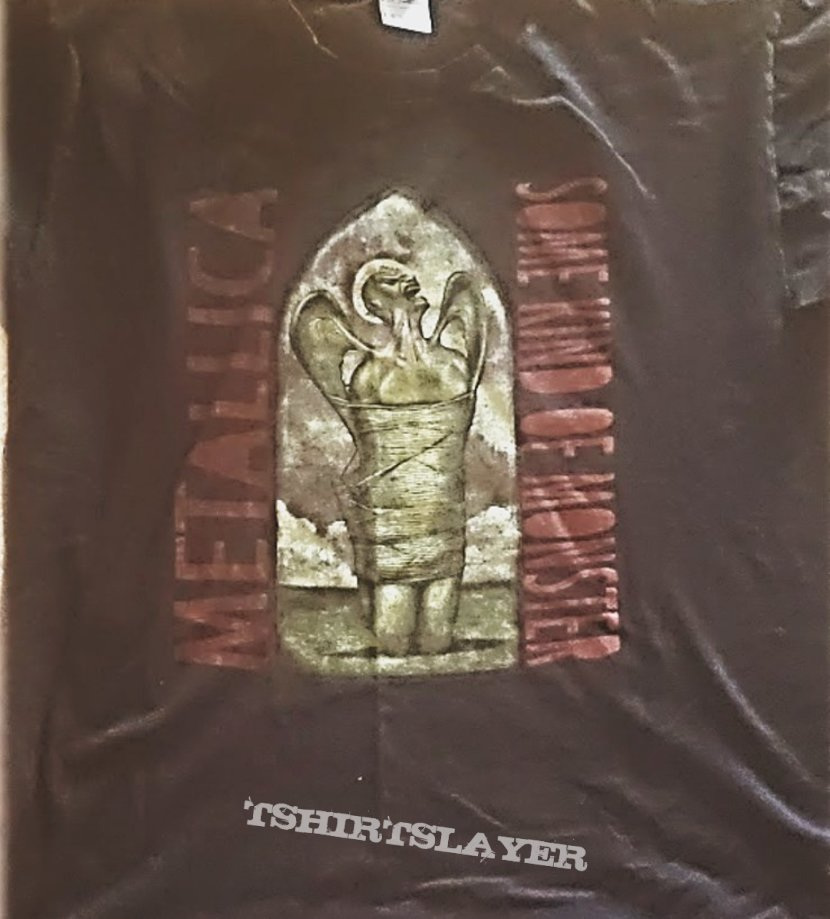 Metallica 2004 Some Kind of Monster Movie Promo official T-Shirt