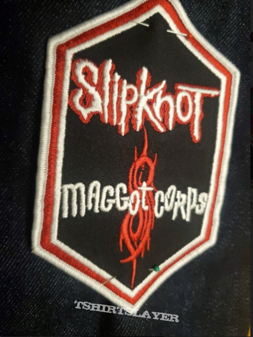 """Slipknot 2005 """"Maggot Corps"""" Embroidered Patch"""