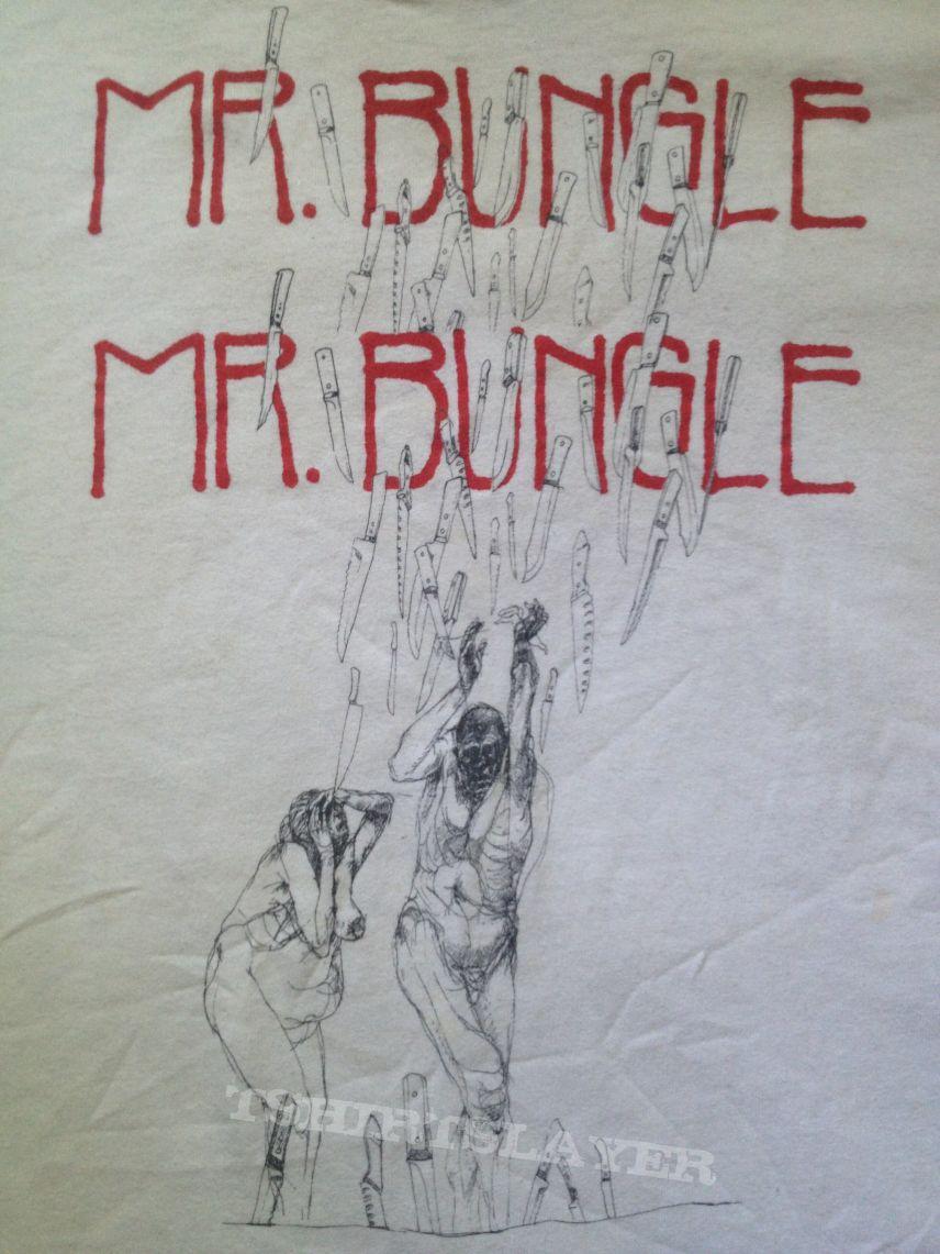 Mr. Bungle Knives Test Print Shirt