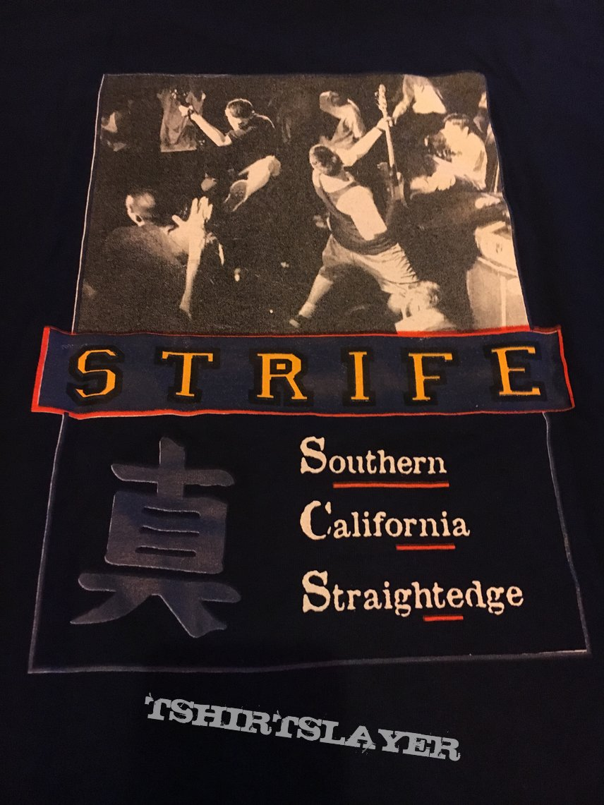 Strife california..