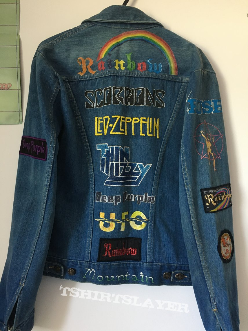 Late 70's embroidered/painted jacket.