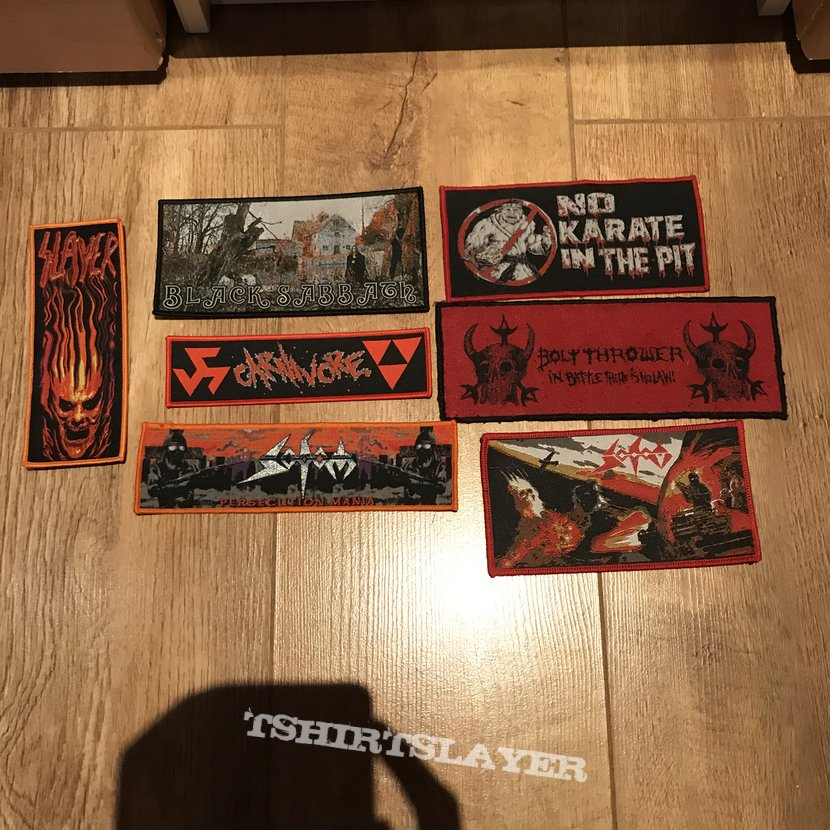 My patch collection so far.