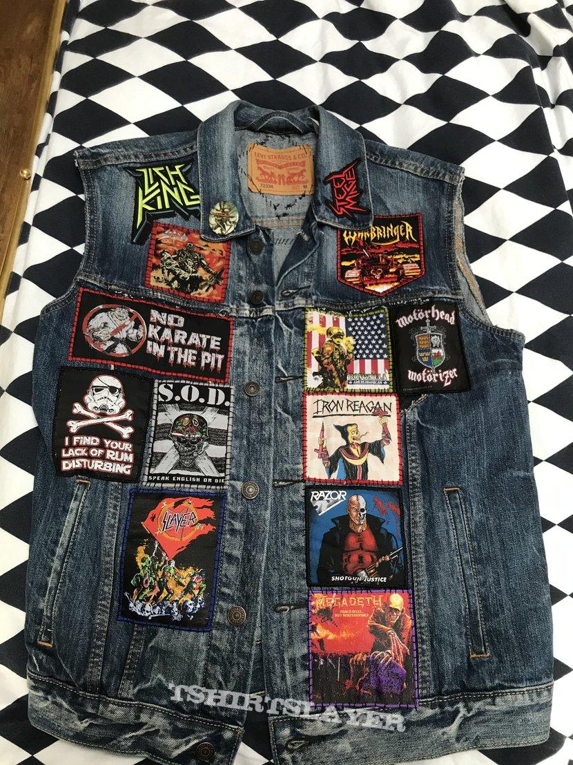 Battle Jacket WIP #1