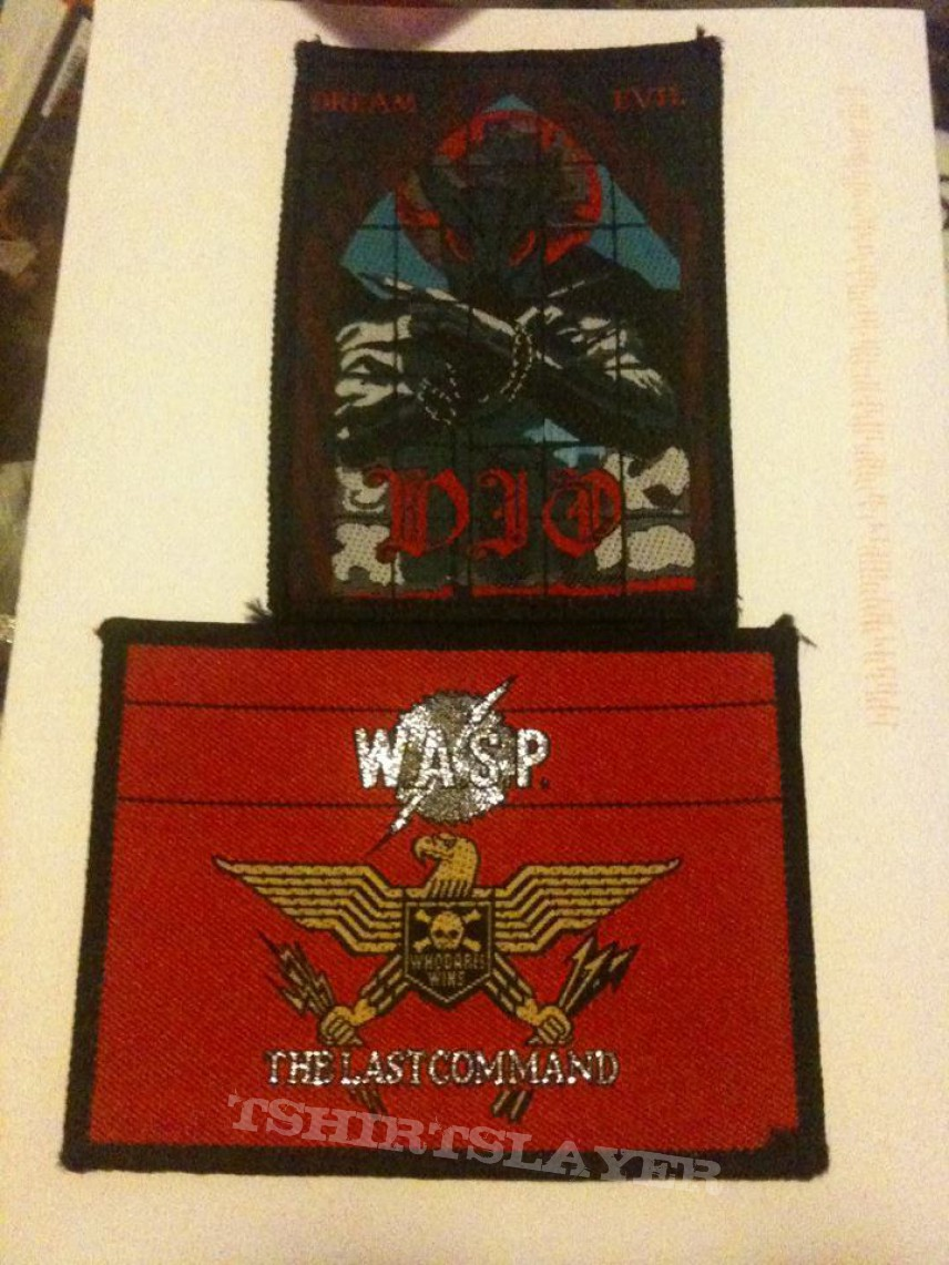 Patch - recently bought patches