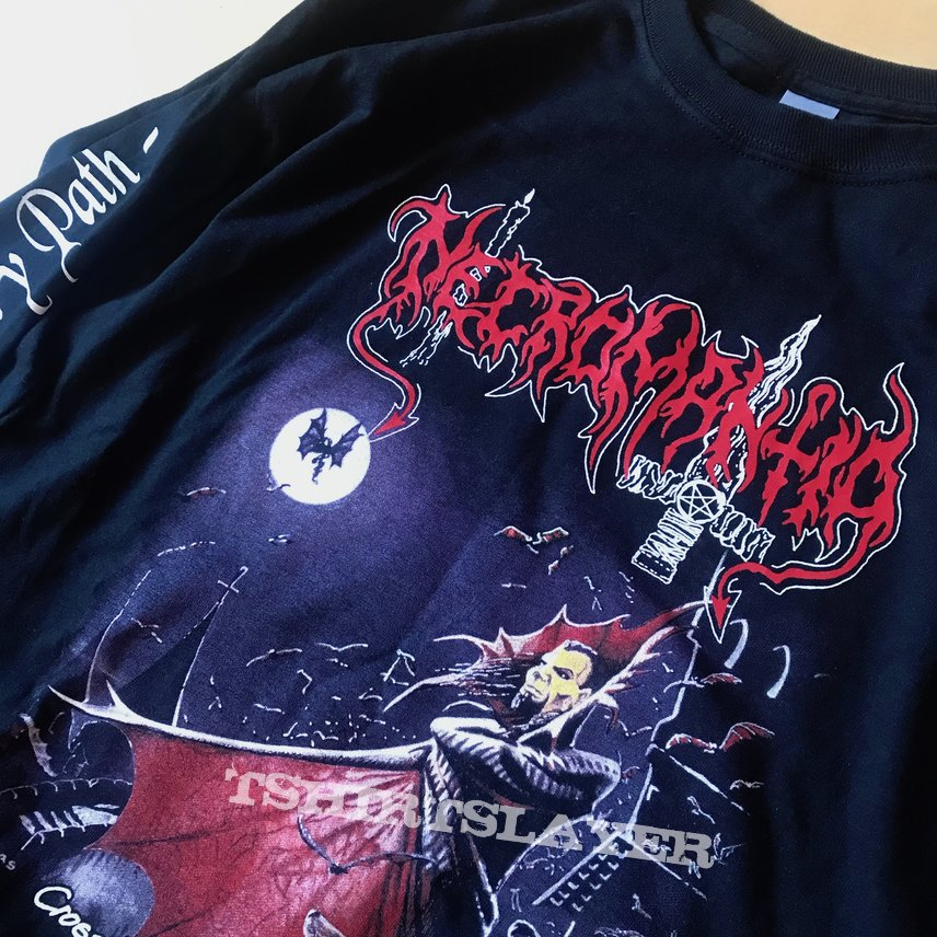 Necromantia – Crossing the Fiery Path Longsleeve Nythra productions 2020
