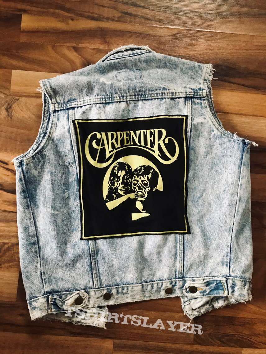 "John Carpenter/The Carpenters ""They Live"" Jean Vest"