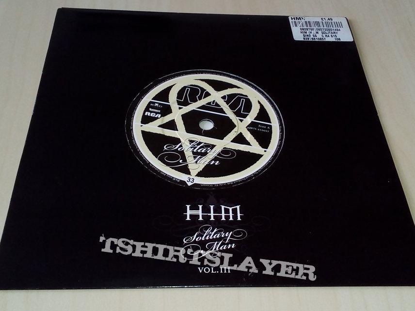 "HIM - Solitary Man Vol. III 7"" Etched Vinyl"