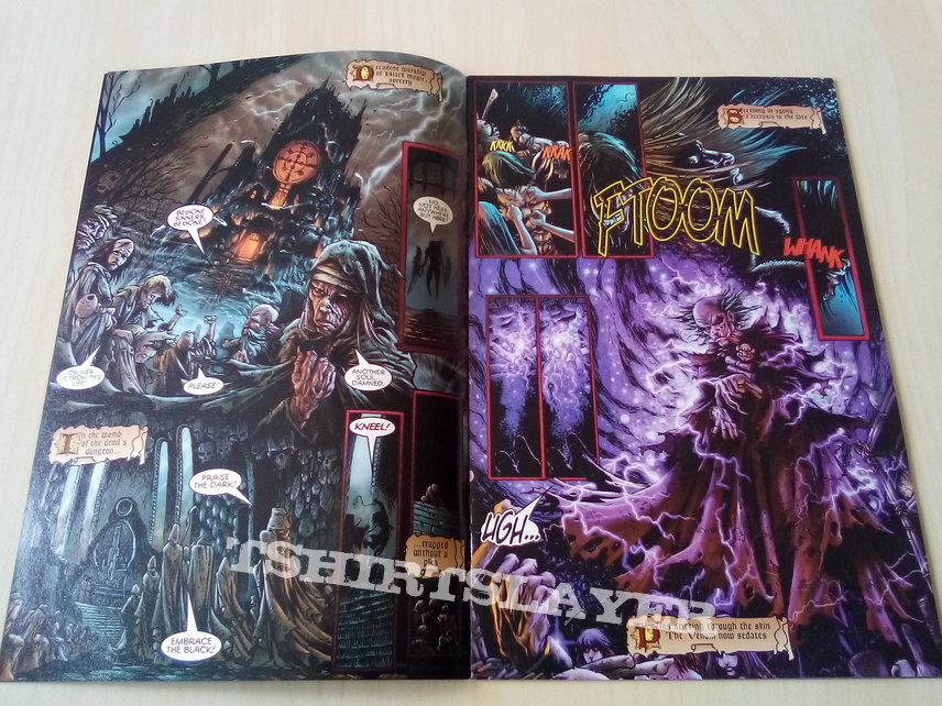 Cryptic Writings Of Megadeth - Comic - 1997