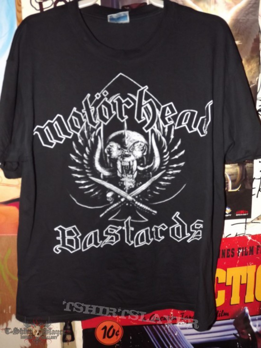 motorhead bastards tshirtslayer tshirt and. Black Bedroom Furniture Sets. Home Design Ideas