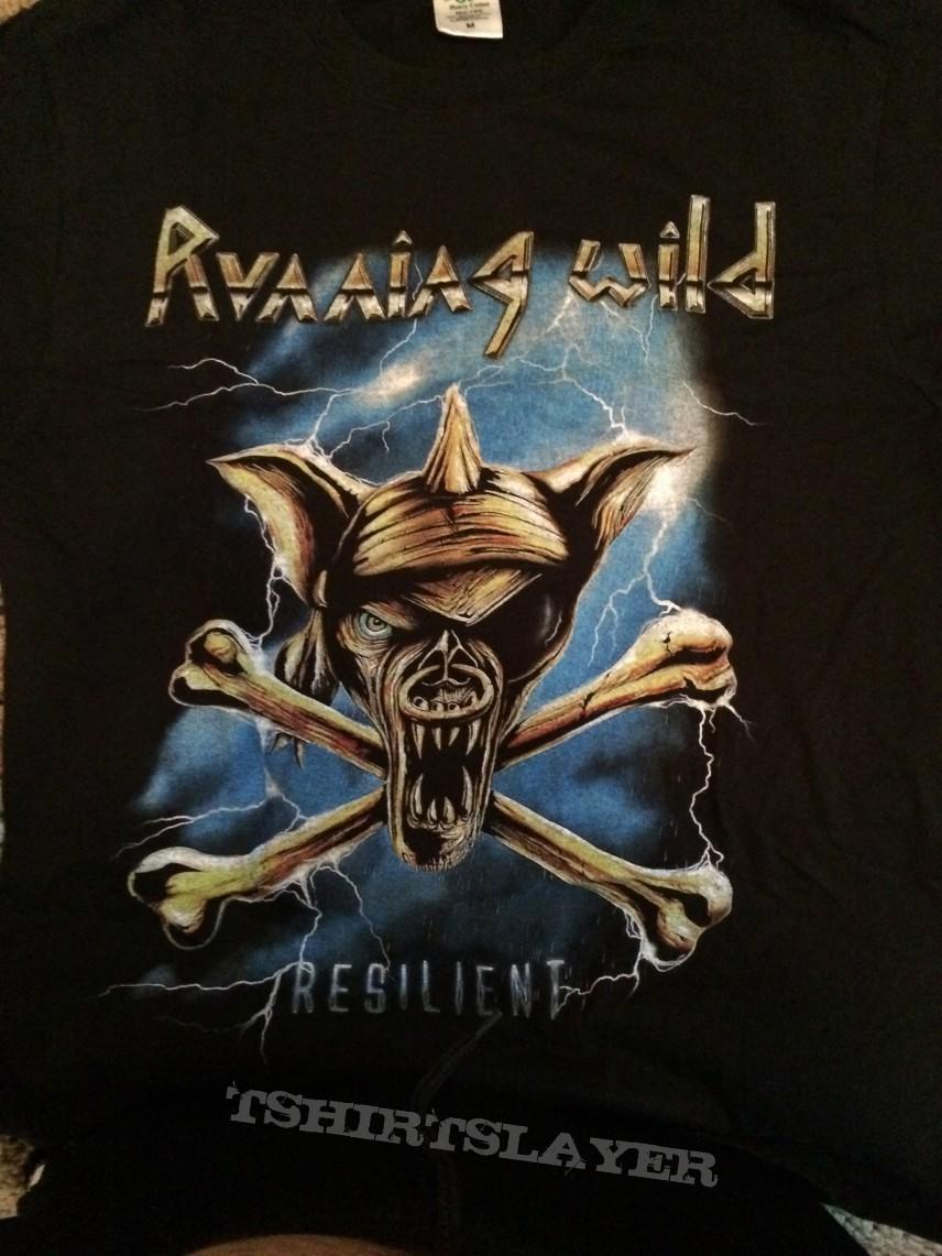 Runniing Wild resillient T shirt