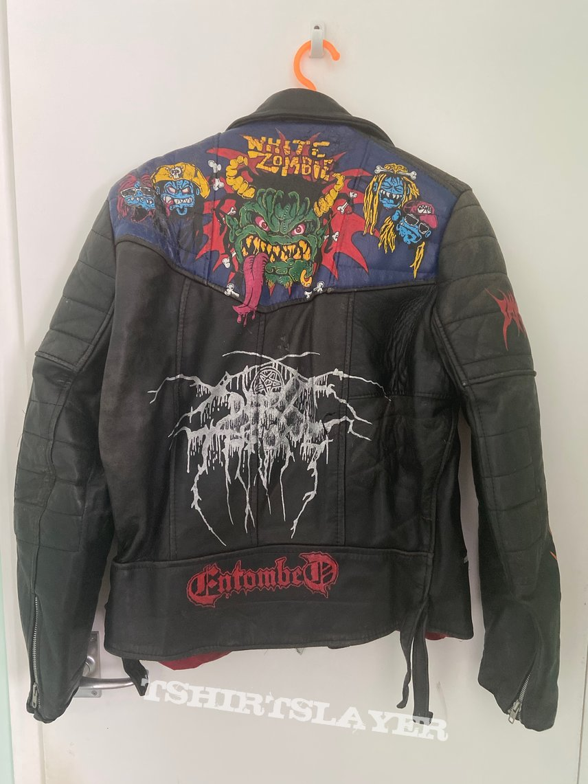 Painted Leather Jacket 1990-