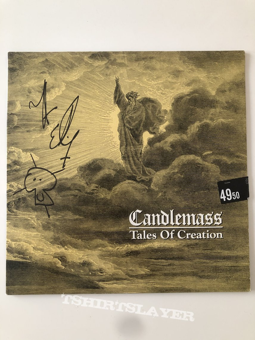 Candlemass Tales of creation SIGNED by Leif Edling