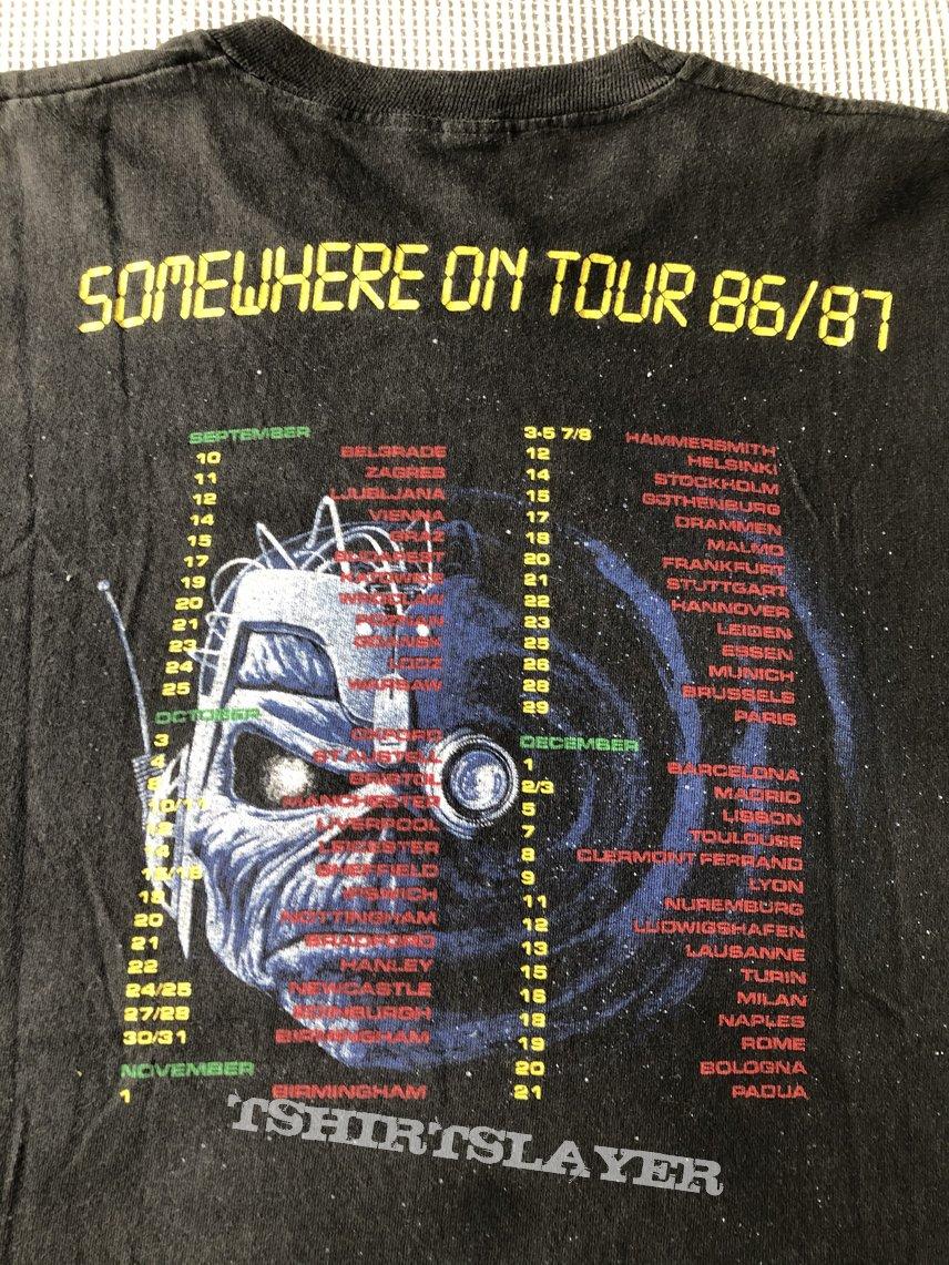 Iron Maiden Somewhere on tour 1986