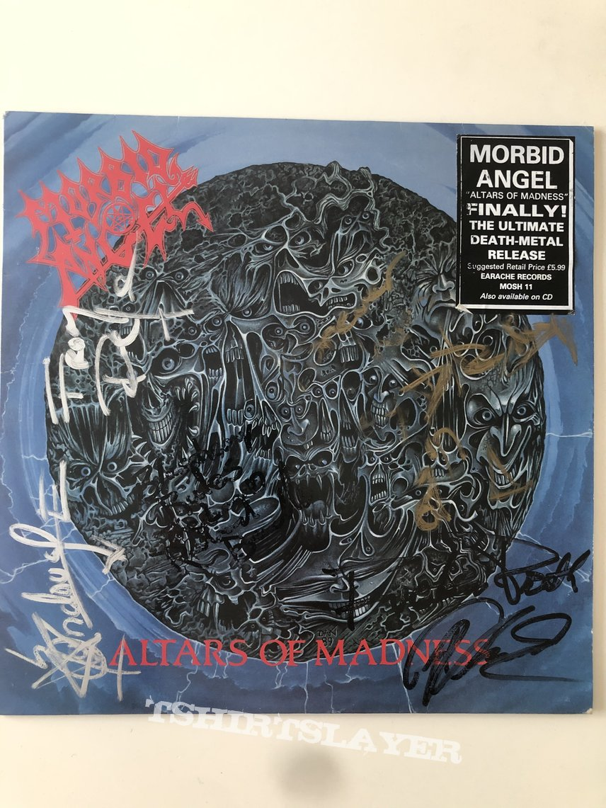 Morbid angel Altars of Madness SIGNED by all