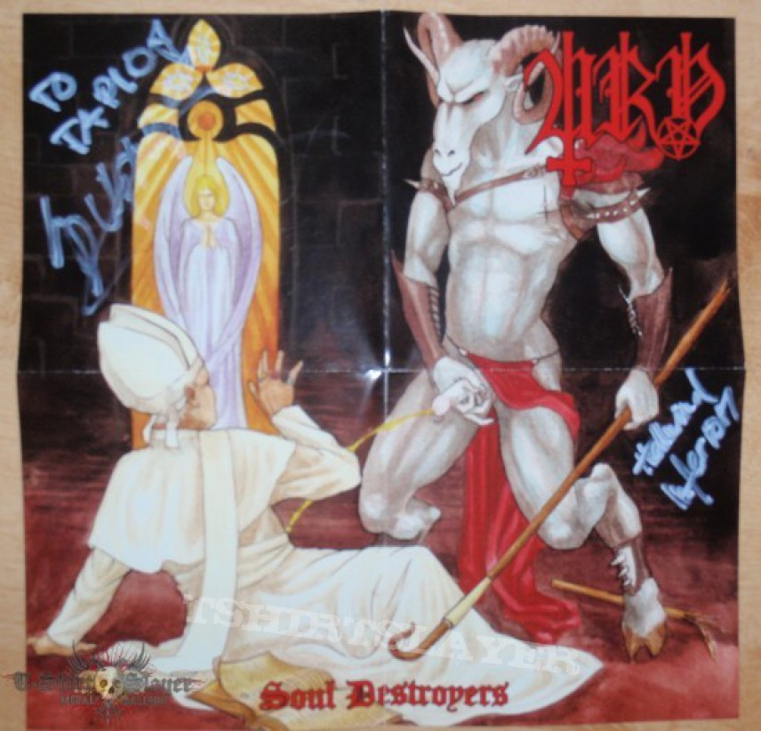 Other Collectable - URN - Soul Destroyers (signed by Sulphur & Hellwind)