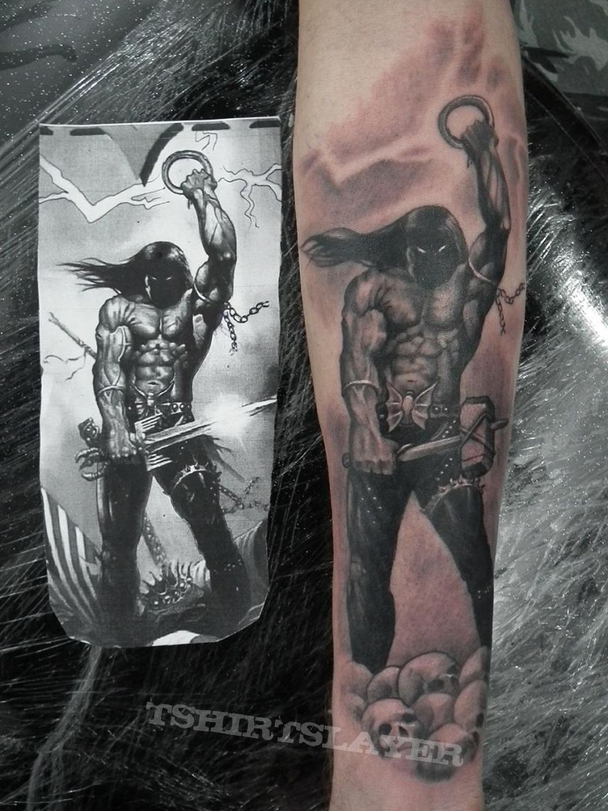 Other Collectable - ManOwaR Tattoo - Kings of Metal