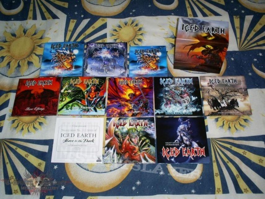 Other Collectable - BOX. Iced Earth - Slave to the Dark