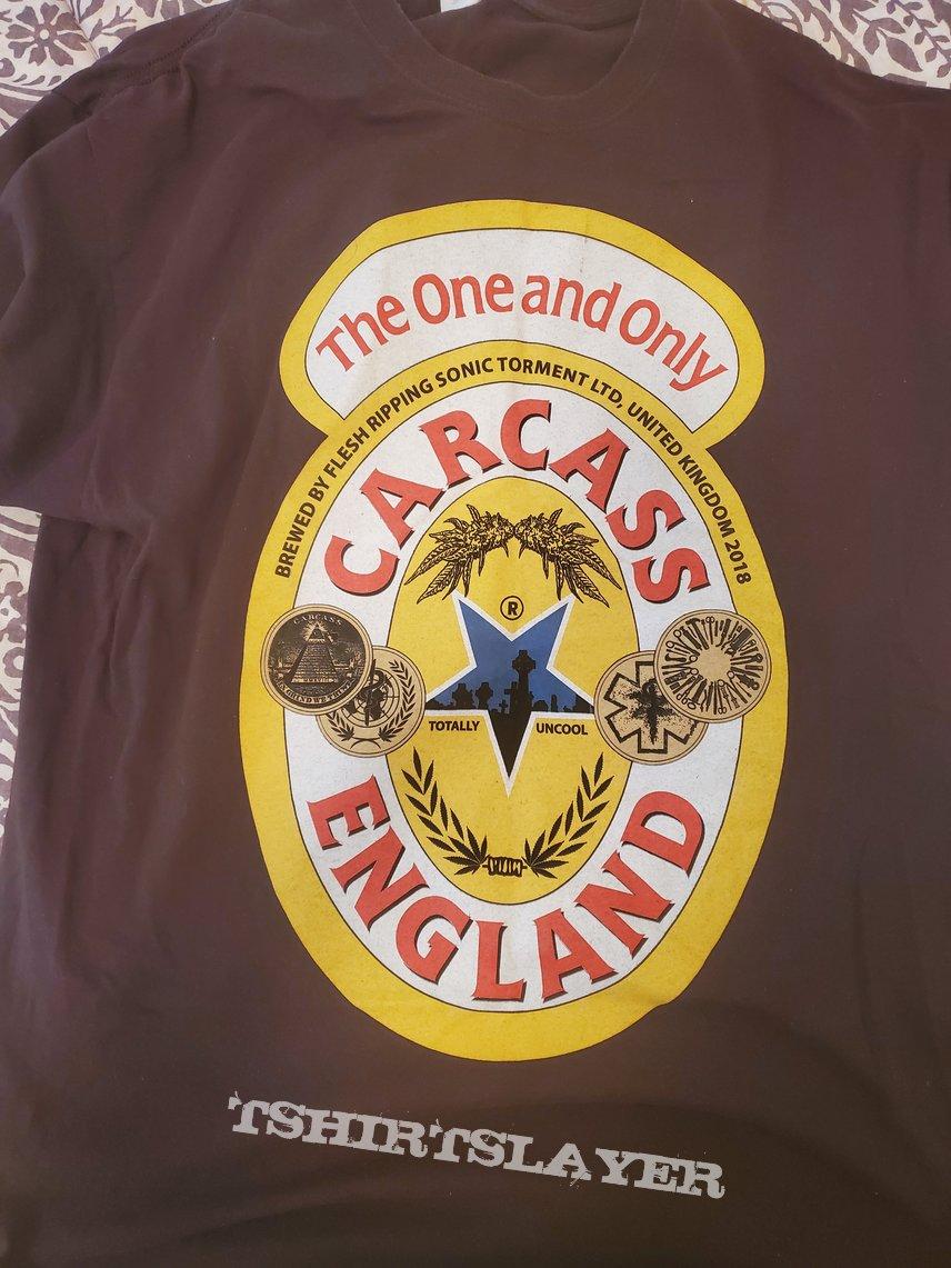 Carcass Newcastle Beer T Shirt Tshirtslayer Tshirt And Battlejacket Gallery