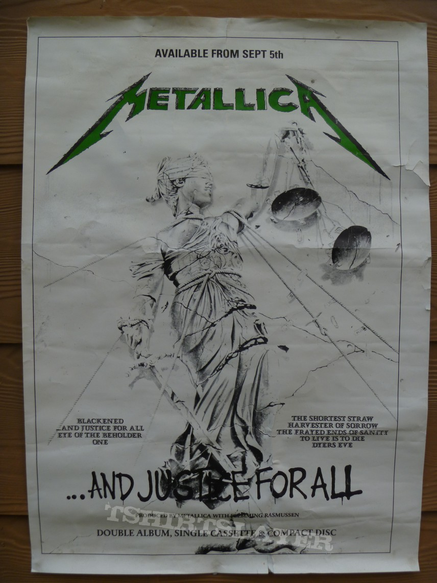 Other Collectable - Metallica - And justice for all -  Poster
