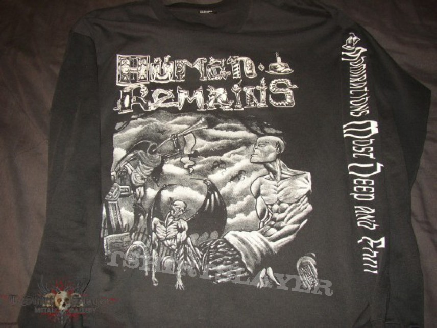 TShirt or Longsleeve - Human Remains Admirations Most Deep And Foul LS