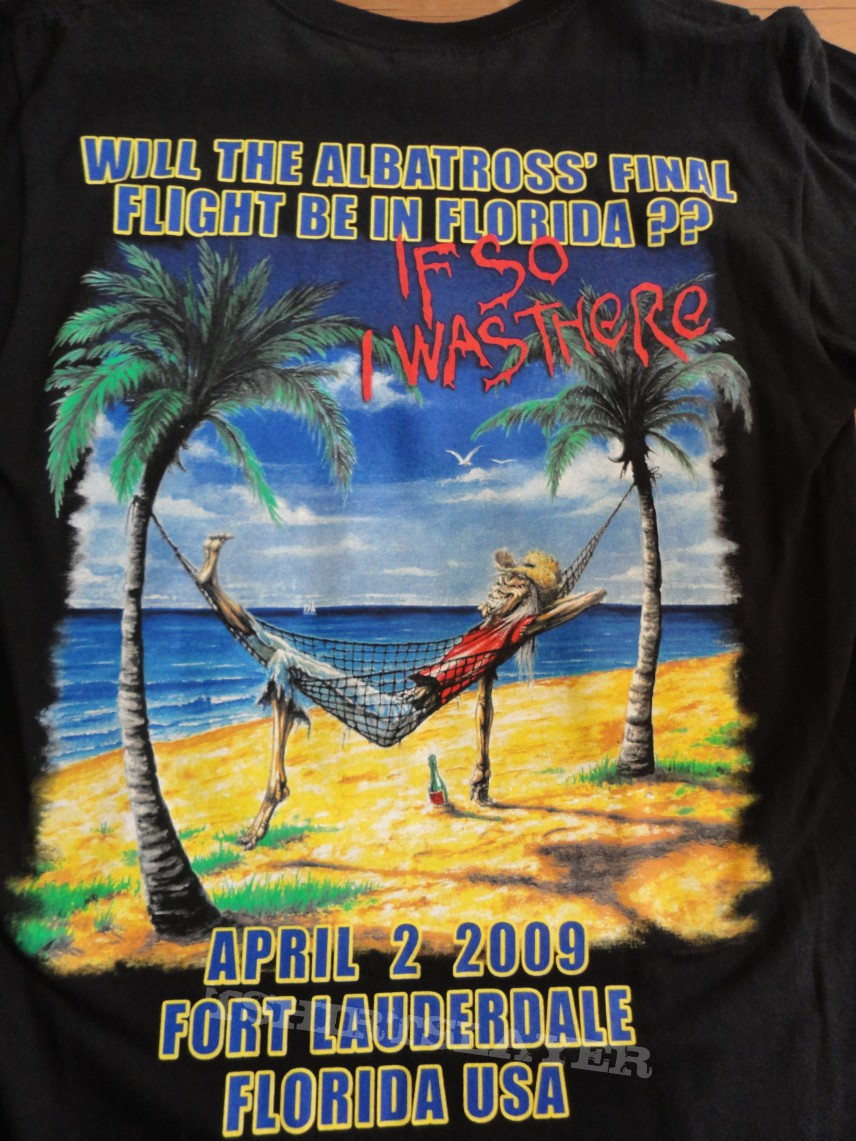 eb1c13ca Iron Maiden Somewhere Back in Time Florida event shirt ...