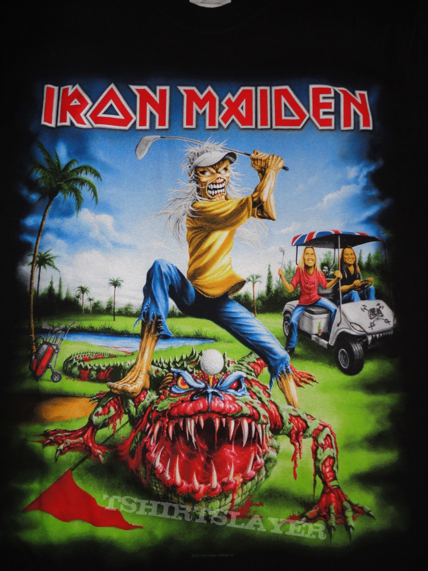 Iron Maiden Final Frontier Florida Event Shirt