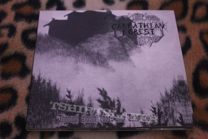 Carpathian Forest - Through the Chasm, Caves and Titan Woods CD