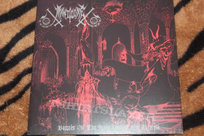 Manticore - Bowels of the Holy Anoint Us in Evil CD