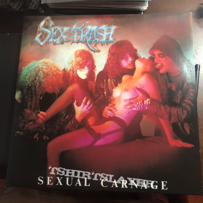 Sextrash sexual carnage reissue