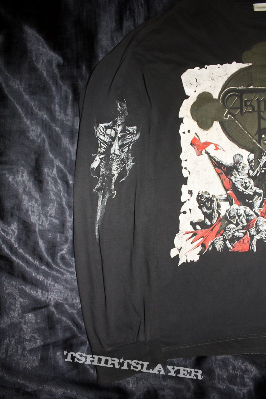 ASPHYX - The Rack Tour Longsleeve - Official Longsleeve from 1991 in Size XL