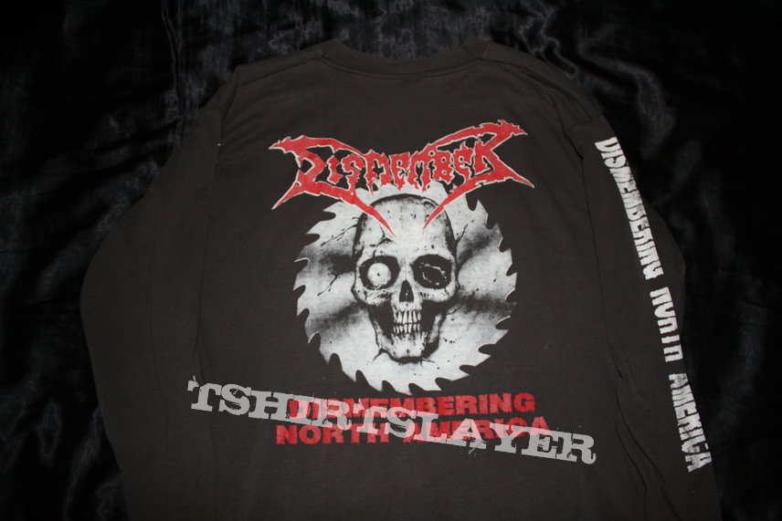 DISMEMBER - Dismembering North America Original Tour Longsleeve from 1993 - Size XL