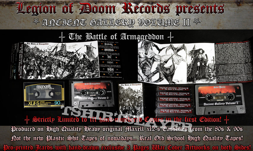 ANCIENT GALLERY - Volume #2 - The Battle of Armageddon (Limited Tape Compilation)