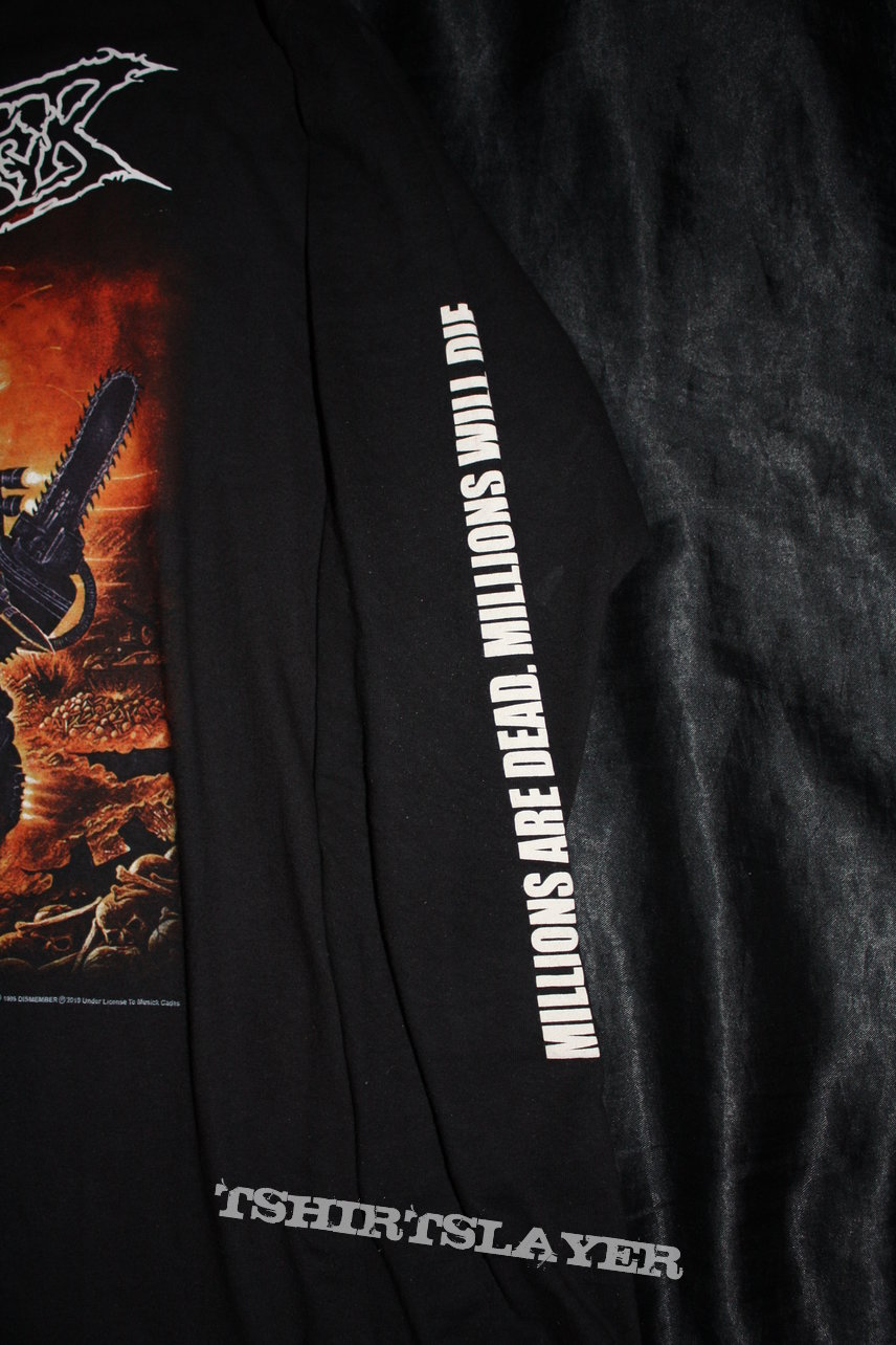 DISMEMBER - Massive Killing Capacity Longsleeve - Size XL - Official Longsleeve by Musick Cadas (2019)