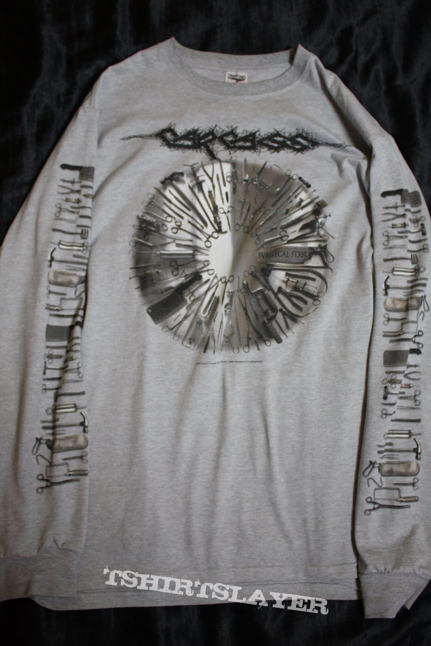 CARCASS - Surgical Steel - Official Limited Longsleeve in Size L (by UNDYING Music)
